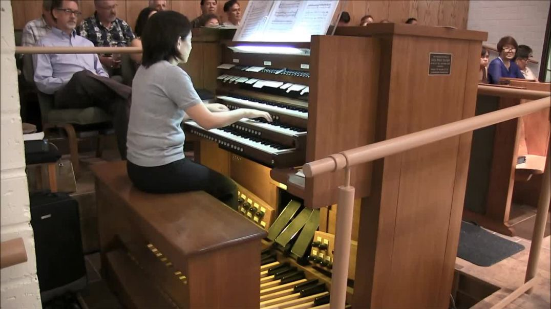 Video game medley (Mario, Zelda, Halo, Minecraft, etc.) on pipe organ