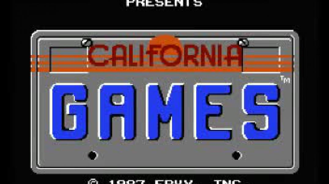 California Games (NES) Music - Title Theme