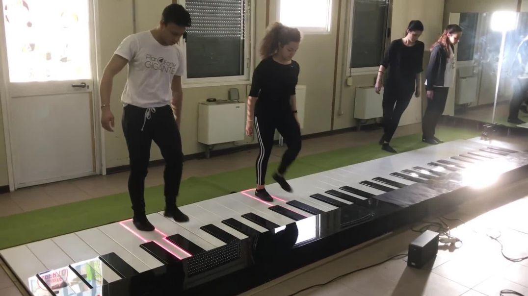 Monster Piano Acrobatics